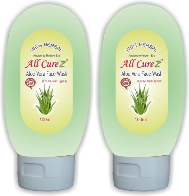 All Curez Aloe (Set of 2) Face Wash