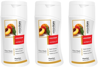 Krishkare Peaches  Face Wash