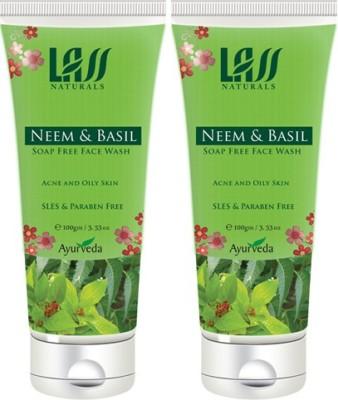 Lass Naturals Neem & Basil Face Wash Combo ( Set of 2 ) Face Wash