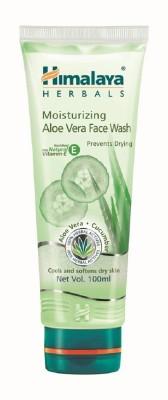 Himalaya Moisturizing Aloe Vera Face Wash(100 ml)