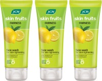 Joy Lemon (Fairness) Pack of 3 Face Wash(150 ml)