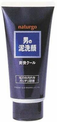 Naturgo Mens Clay Face Wash Refreshing (Black Label) Face Wash