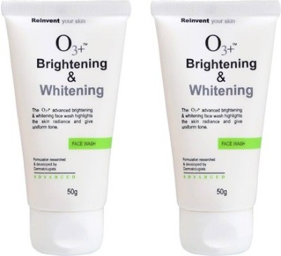 O3+ Brightening & Whitening (Pack Of 2 ) Face Wash