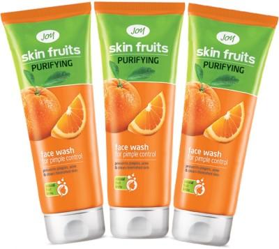 Joy Purifying (Orange) Pack of 3 Face Wash