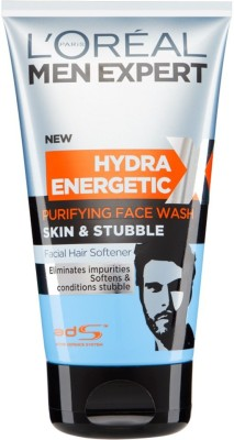 L,Oreal Paris Hydra Energetic purifying Skin & Stubble Face Wash