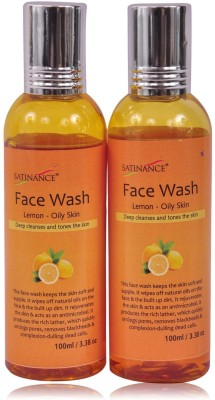 Satinance Lemon Face Wash - (Pack of 2) Face Wash