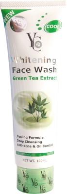 YC Whitening Green Tea Face Wash