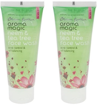 Aroma Magic Neem and Tea Tree (Pack of 2) Face Wash