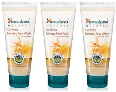 Himalaya Clarifying Fairness Face Wash (Pack of 3) Face Wash