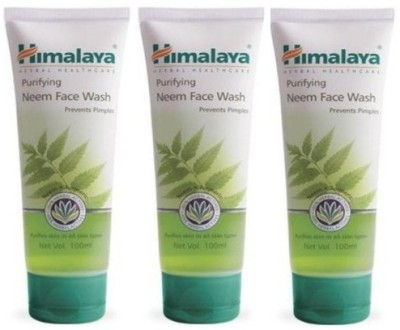 Himalaya Purifying Neem - (Pack of 3) Face Wash