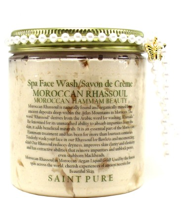 Saint Pure Moroccan Rhassoul Hammam Beauty & Spa  Face Wash