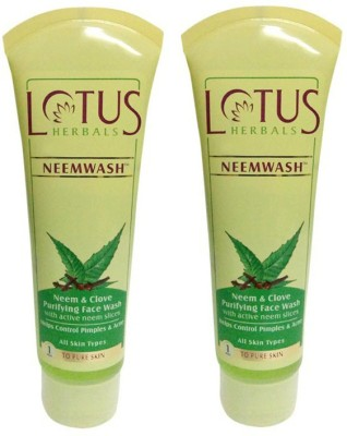Lotus Herbals Neem & Clove - Purifying  Face Wash