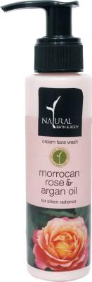 Natural Bath & Body Morrocan Rose & Argan Oil  Face Wash