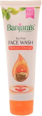 Banjaras Multani Orange  Face Wash