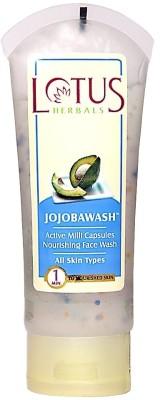 Lotus Jojoba Active Milli Capsules Nourishing Face Wash