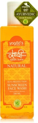Khadi Natural Sun-Protection Sunscreen  Face Wash