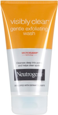 Neutrogena Visible Clear Gentle Exfoliating Face Wash(149 ml)