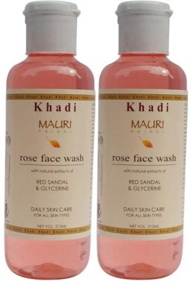Khadimauri Rose Face Wash - Pack of 2 - Premium Herbal Face Wash