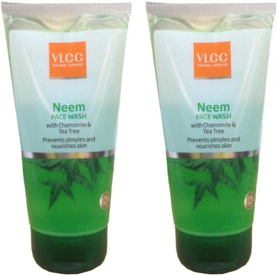 VLCC Neem With Chamomile & Tea Tree (Pack of 2) Face Wash