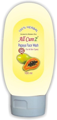 All Curez Papaya  Face Wash