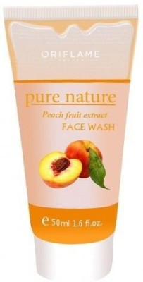 Oriflame Sweden Pure Nature Peach Fruit Extract  Face Wash