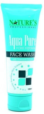 natures professional aqua pure Face Wash