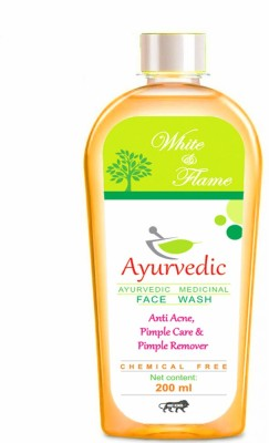 white & flame Anti Acne & Pimple Remover  Face Wash