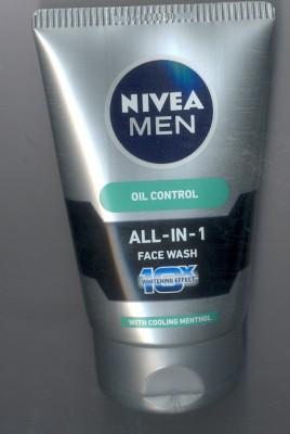 Nivea Men All-in-1 10x Whitening Effect Face Wash