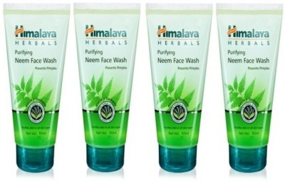 Himalaya Purifying Neem - (Pack of 4) Face Wash