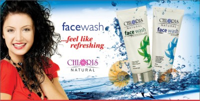 Chloris Natural Refreshing Neem and Alovera Face Wash (Pack of 2) Face Wash