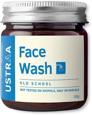 USTRAA by HAPPILY UNMARRIED Face Wash-Old School Face Wash