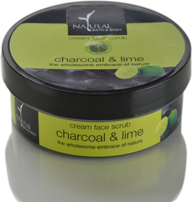 Natural Bath & Body Charcoal & Lime Face Wash