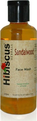 Hibiscus Herbals Sandalwood  Face Wash