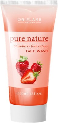 Pure nature STRAWBERRY FRUIT EXTRACT Face Wash