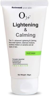 O3+ Lightening & Calming Face Wash