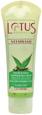 Lotus Neem & Clove - Purifying  Face Wash