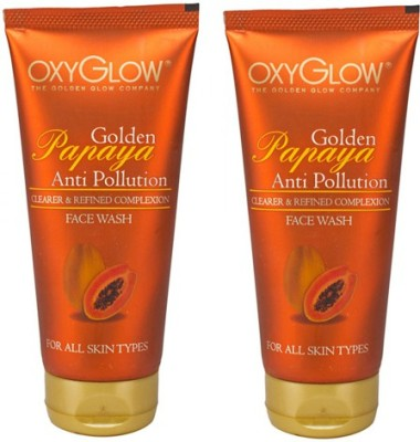 Oxyglow Golden Papaya Anti Pollution  Face Wash