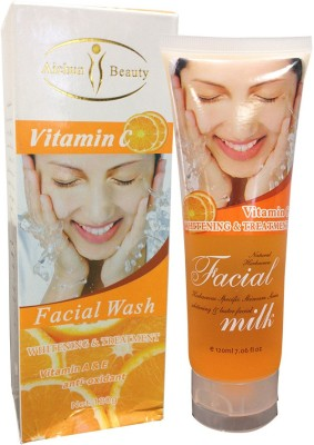 Aichun Beauty Vitamin C, Milk Face Wash