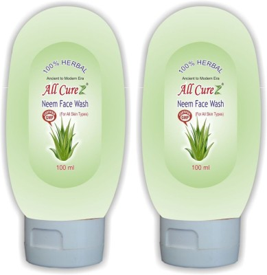 All Curez Neem (Set of 2) Face Wash