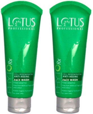 Lotus Professional Smooth Skin Anti Ageing Face Wash Pack of 2 Face Wash