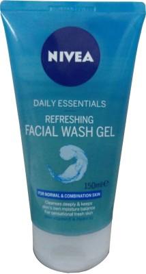 Nivea Daily Essentials Refreshing Facial Gel Face Wash