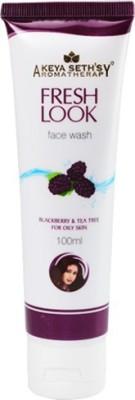 Keya Seth Fresh Look Blackberry Face Wash(100 ml)