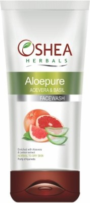 Oshea Herbals Aloepure Aloevera And Basil Face Wash