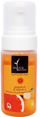 Natural Bath & Body Grapefruit & Vitamin C Foming  Face Wash