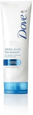 Dove Deep Pure Face Wash