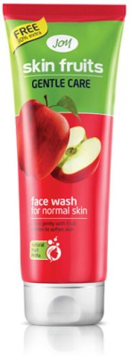 Joy Skin Fruits Gentle Care Face Wash for Normal Skin 65ml Each - (Pack of 2) Face Wash