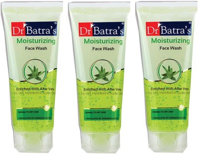 Dr Batra Enriched with Aloevera Moisturising Face Wash