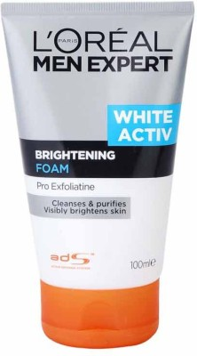 L,Oreal Paris Men Expert White Activ  Face Wash