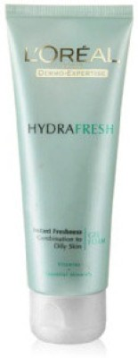 L ,Oreal Paris Dermo Expertise Hydrafresh Cleanser Gel Foam Face Wash