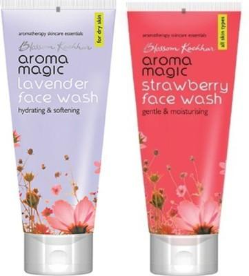 Aroma Magic Lavender ,Strawberry Face Wash